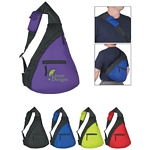 Promotional Sling Bags: Customized Fun Style Budget Sling Backpack