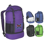 Promotional Backpacks: Customized Fun Style Sports Backpack with Insulated Bottom
