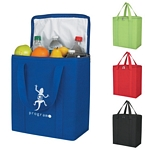 Promotional Tote Bags: Customized Non-woven Insulated Marketplace Tote Bag