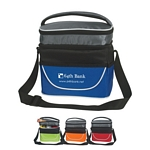 Promotional Lunch Bags: Customized Two Compartment Lunch Bag