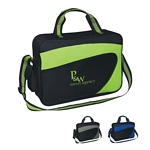 Promotional Messenger Bags: Customized Ecliptic Briefcase Messenger Bag