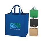 Promotional Shopping Tote Bags: Customized Jute Shopper Tote Bag