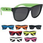 Promotional Sunglasses: Customized Rubberized Promotional Sunglasses