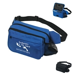 Promotional Fanny Packs: Customized Deluxe Multi-Pack Fanny Pack