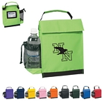 Promotional Lunch Bags: Customized Identification Lunch Bag with Water Bottle Holder