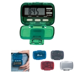 Promotional Pedometers: Customized Multi-function Pedometer with Clock