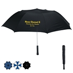 Promotional Umbrellas: Customized 56 Arc Giant Telescopic Folding Umbrella
