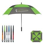 Promotional Umbrellas: Customized 60 Arc Square Umbrella