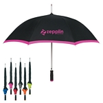 Promotional Umbrellas: Customized 46 Arc Edge Two-Tone Umbrella