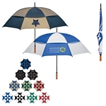 Promotional Umbrellas: Customized 68 Arc Vented, Windproof Umbrella