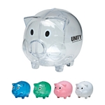 Promotional Piggy Banks: Customized Plastic Piggy Bank