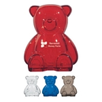 Promotional Coin Banks: Customized Plastic Bear Shape Bank