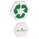 Promotional EcoFriendly Stressballs: Customized Recycled Symbol Stress Reliever