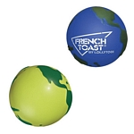 Promotional Stress Relievers: Customized Globe Stress Relievers
