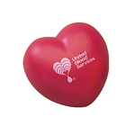 Promotional Stress Relievers: Customized Heart Stress Relievers