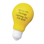 Promotional Stress Relievers: Customized Light Bulb Stress Relievers