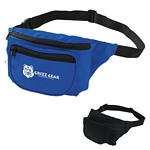 Promotional Fanny Packs: Customized Deluxe Two Pocket Fanny Pack