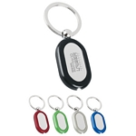 Promotional Key Chains: Customized Curved Metal Light Key Tags