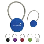 Promotional Key Chains: Customized Circular Metal Hook-In Key Tag