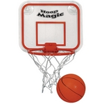Promotional Games: Customized Mini Basketball & Hoop Set