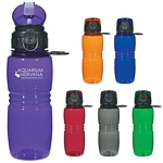 Promotional Sports Bottles: Customized 18 oz. Bottle with Pop up Lid