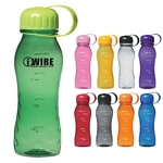 Promotional Sports Bottles: Customized 18 oz. Polycarbonate Water Jug Water Bottle