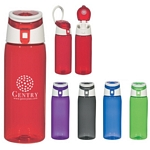 Promotional Sports Bottles: Customized 24 oz. Hybrid Polycarbonate Bottle with Stainless Bottom