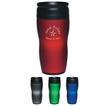 Promotional Tumblers: Customized 14 oz. Soft Touch Tumbler