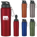 Promotional Metal Sports Bottles: Customized 24 oz. Stainless Steel Bike Bottle