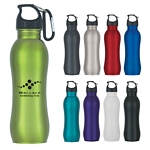 Promotional Metal Sports Bottles: Customized 25 oz Stainless Steel Grip Bottle
