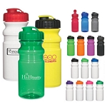 Promotional Plastic Sports Bottles: Customized Poly-Clear 20 oz Fitness Bottle