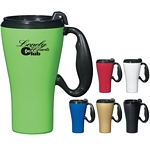 Promotional Travel Mugs: Customized 16 oz. Grab this Travel Mug