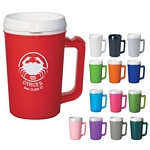 Promotional Travel Mugs: Customized 22 oz. Thermo Insulated Mug