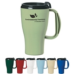 Promotional Travel Mugs: Customized Biodegradable Evolve 16 oz Omega Travel Mug