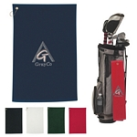 Promotional Golf Towels: Customized Embroidered 100% Cotton Golf Towel