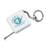 Promotional Measure Tapes: Customized Tape Measure Key Tag