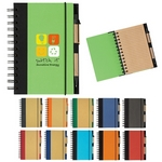 Promotional Notebooks: Customized Eco-friendly Spiral Notebook & Pen