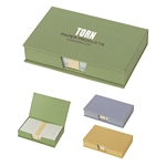Promotional Memo Note Holders: Customized Recycled Memo Box