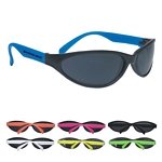 Promotional Sunglasses: Customized Wave Rubberized Sunglasses