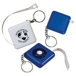 Promotional Measure Tapes: Customized Tape-a-Matic Key Tag