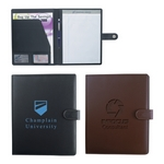 Promotional Padfolios: Customized Pebble Grain 8  x 11 Portfolio