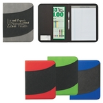 Promotional Padfolios: Customized NonWoven 8-1-2 x 11 Bubble Padfolio