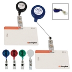 Promotional ID Holders: Customized Retractable Badge Holder with Laminated Label