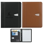 Promotional Padfolios: Customized Eclipse Bonded Leather 8-1-2 X 11 Portfolio