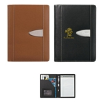 Promotional Junior Padfolios: Customized Eclipse Bonded Leather 5 x 7 Portfolio