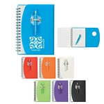 Promotional Notebooks: Customized Spiral Notebook With Shorty Pen