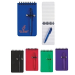 Promotional Jotter Pads: Customized Spiral Pocket Jotter with Pen