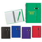 Promotional Notebooks: Customized Spiral Pocket Notebook & Pen