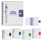 Promotional Notebooks: Customized Spiral Notebook With Dart Pen