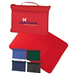 Promotional Blankets: Customized Fleece Travel Blanket